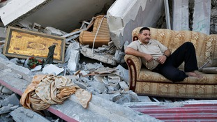 Many residents have no homes to go back to in Gaza.