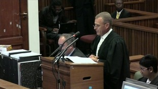 Prosecution begins closing arguments in Pistorius trial