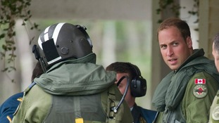 The Duke worked with the Royal Air Force Search and Rescue Force.
