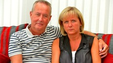 Gary and Caroline Barton at their home in Leigh