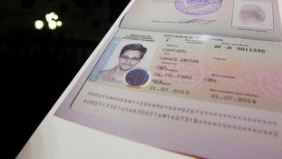 Fugitive former US spy agency contractor Edward Snowden's new refugee documents granted by Russia