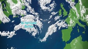 Ex Hurricane Bertha