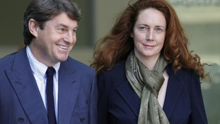 Rebekah Brooks in court today