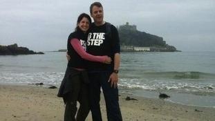 Philip with his sister Caroline