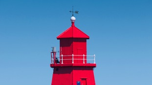 The Herd Groyne lighthouse is ship-shape once again