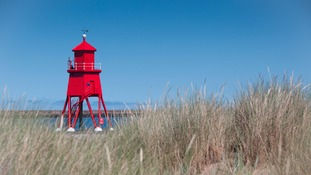 The Herd Groyne lighthouse