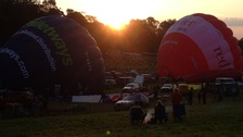 Balloons get ready for mass ascent