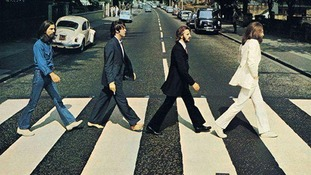 The iconic photo of the band was taken 45 years ago today.