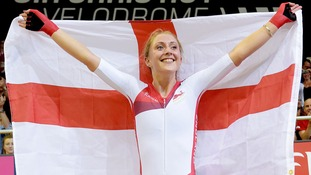 Laura Trott will attempt to break the Guinness World Record for the biggest bike bell ensemble at Guildhall Yard.