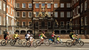 The FreeCycle loop of London will see cyclists pass some of the capital's historic landmarks.
