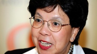 Director-general of the World Health Organisation (WHO) Dr Margaret Chan.