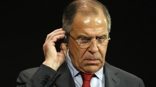 Russia's Foreign Minister Lavrov