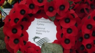 Tribute to Welsh Guards 30 years after Falklands freed
