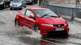Flash floods in Kent