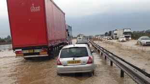 A14 flooding