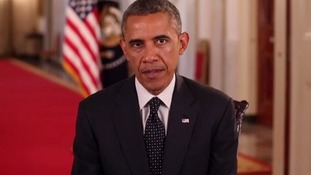 President Obama said US combat troops will not enter Iraq again.