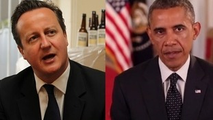Prime minister David Cameron and President Obama spoke on the phone earlier.