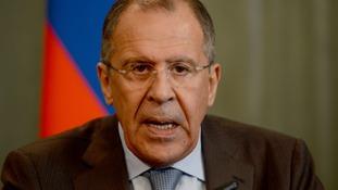 Sergei Lavrov warned of
