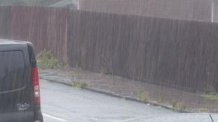 Rain in Newport