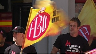 86% turnout in first of 8 days of FBU fire strikes