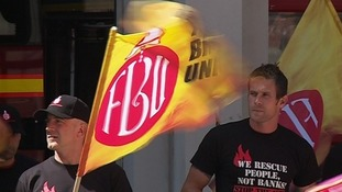 90% turn out in Avon and Somerset on first day of FBU strikes