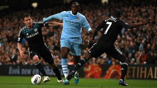 Lampard and Toure