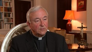 Cardinal Vincent called on people to pray for those in northern Iraq.
