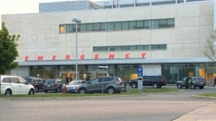 The hospital where the patient was being treated.