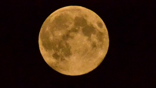 Tonight's super moon shines over Blakenall in Walsall