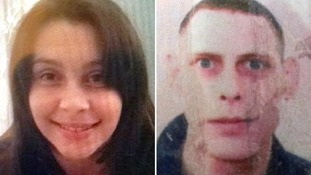 Rebecca Mclean, left, is believed to be missing with Michael Britten, right.