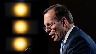 Australian PM Tony Abbott has condemned the image.