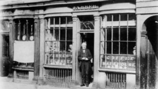 The shop first opened in 1819 and has been trading ever since