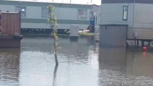 Ingoldmels on saturday after torrential downpours