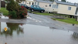 Nice weather for ducks at Southview in Skegness