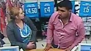 Do you recognise this man and woman?