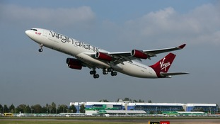Virgin Atlantic confirmed the flight made a U-turn die to the