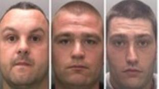 Gavin Hunt, Christopher Dixon and Jamie Dixon