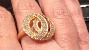 This ring was taken from the victim's bedroom.
