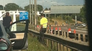 A viewer picture of the closure on the M42