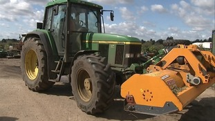 Theft of farm machinery increasing.