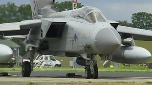 A Tornado at RAF Marham.