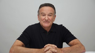 Robin Williams pictured in October 2013.