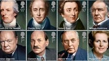 Eight new stamps featuring key Prime Ministers of the past 200 years