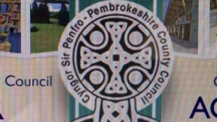 Pembrokeshire council logo