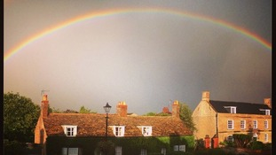 Rainbow over Peterborough