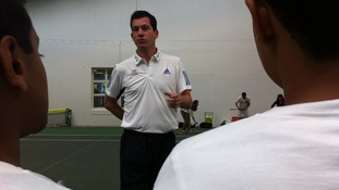 Tim Henman in Islington