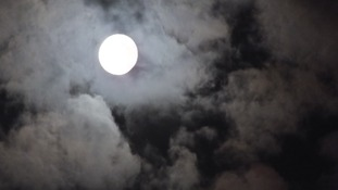 Moon over Hyde, Manchester  TREVOR BROWN
