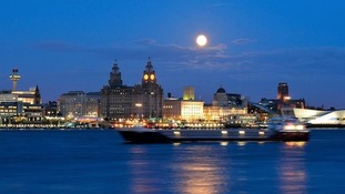 Liverpool from Seacombe Ferry towards Liverpool KEVIN LYTH