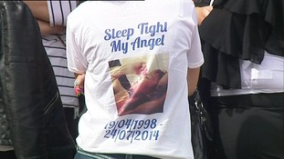Many wore special t-shirts made to honour 15-year-old Conor McColl.
