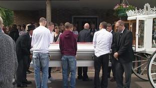 Conor McColl's funeral.